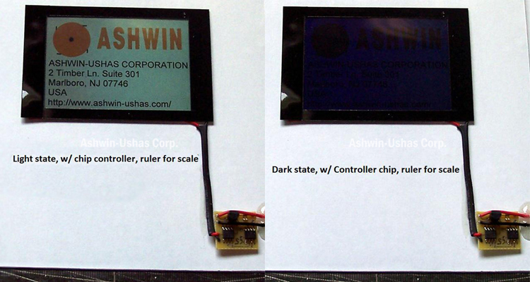 Typical extreme-light/extreme-dark contrast, with Microcontroller also shown.